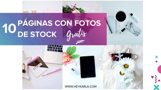 10 PÁGINA CON FOTOS DE STOCK GRATIS PARA TU BLOG O REDES SOCIALES