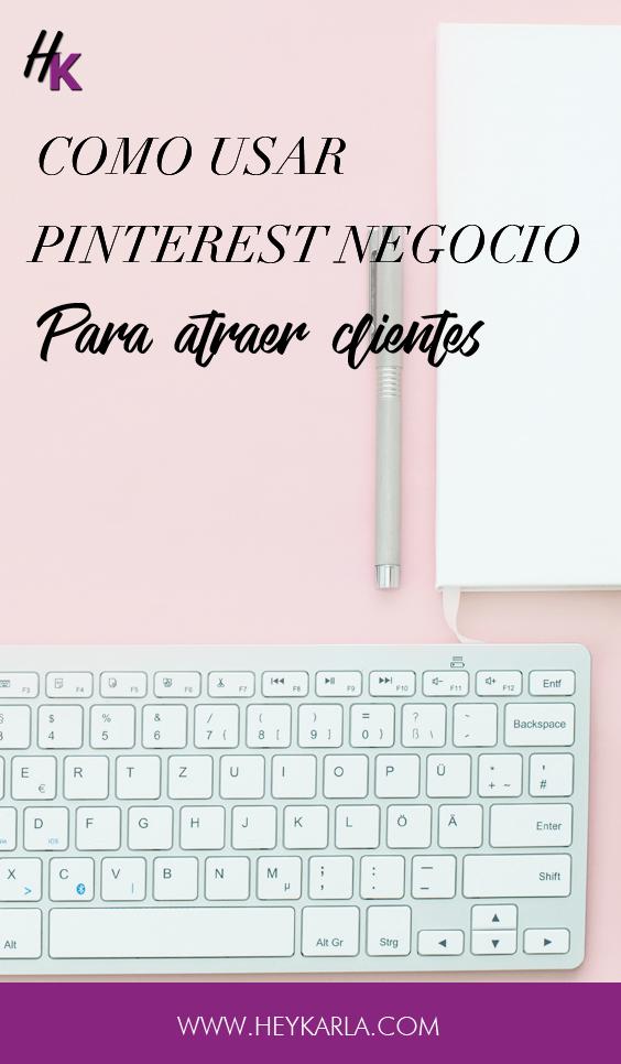 Como usar pinterest para atraer clientes